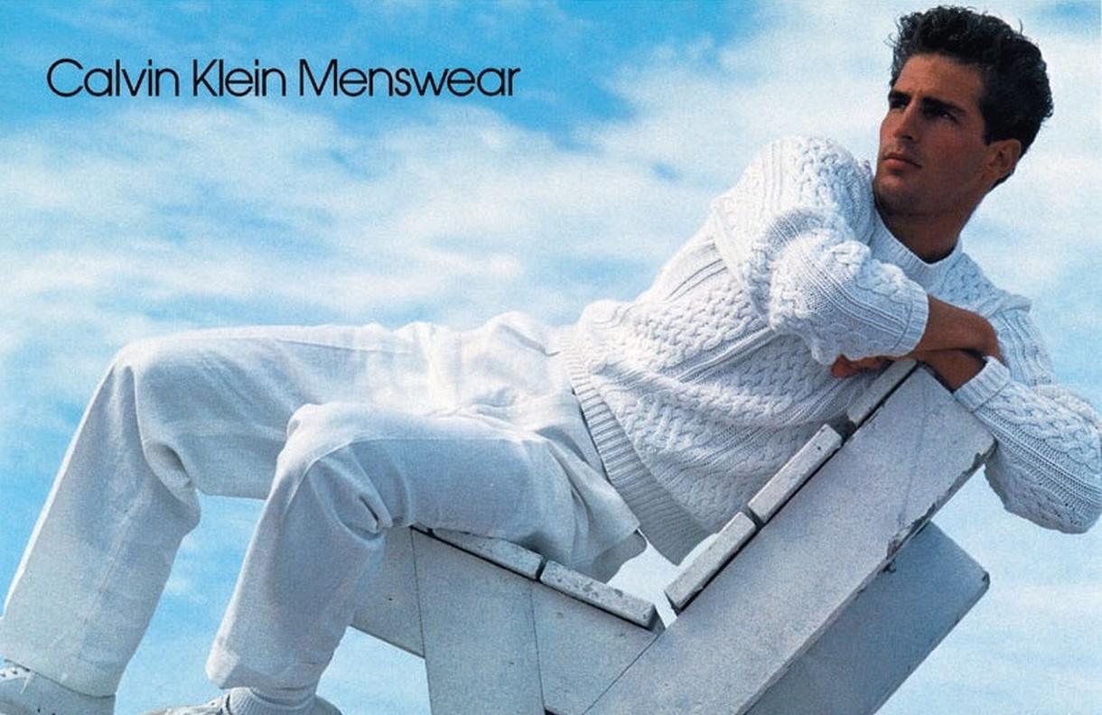 TBT: Calvin Klein Goes White for Spring 1984
