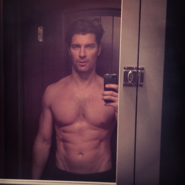 Cory Bond can never resist a great selfie.