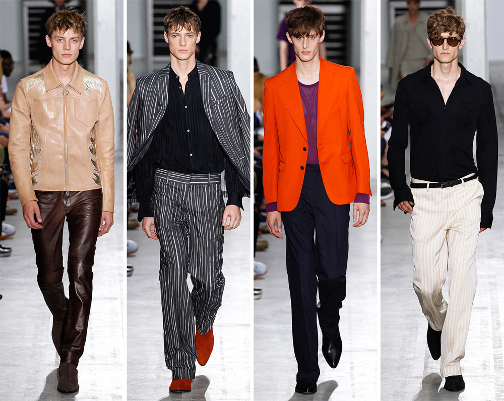 Costume National Spring/Summer 2015: Rock 'n' Roll reigned for a sharp collection that took its inspiration from the 1970s.