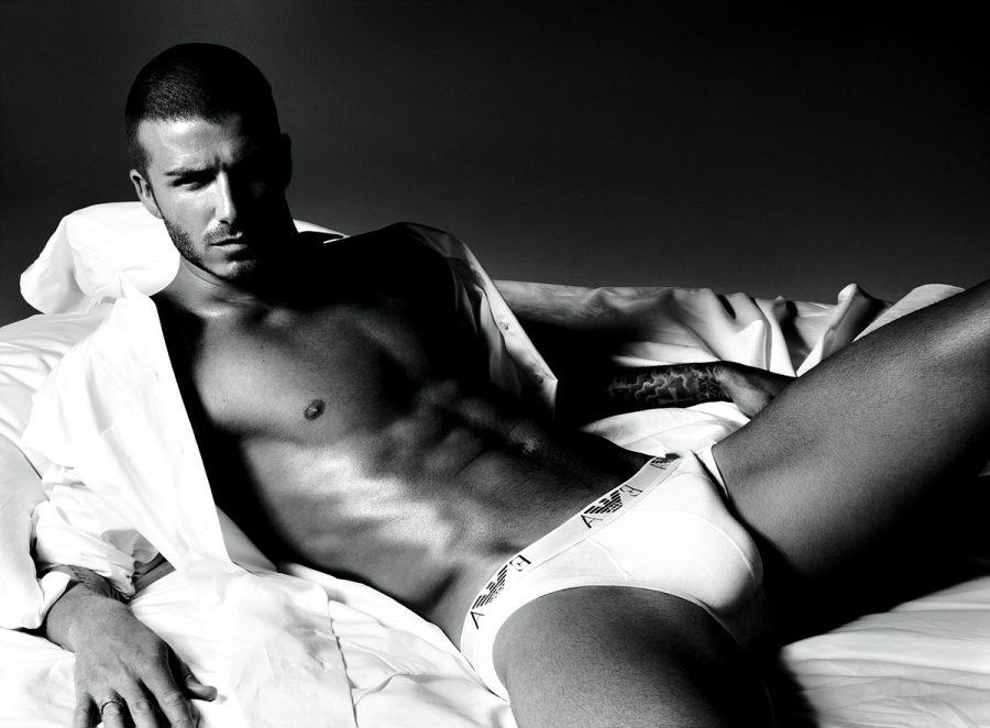 David Beckham for Emporio Armani Underwear Ad Campaign - Men Sexy Underwear