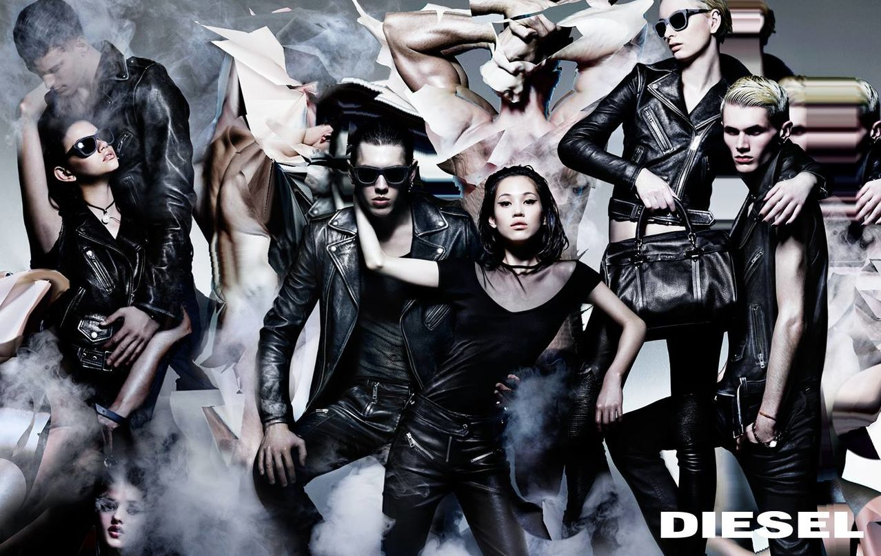 diesel prefall 2014 campaign by nick knight