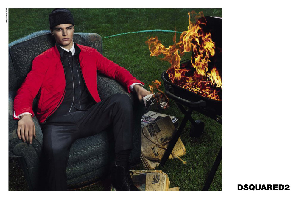 Preview: Dsquared2 Men Fall/Winter 2014 Campaign