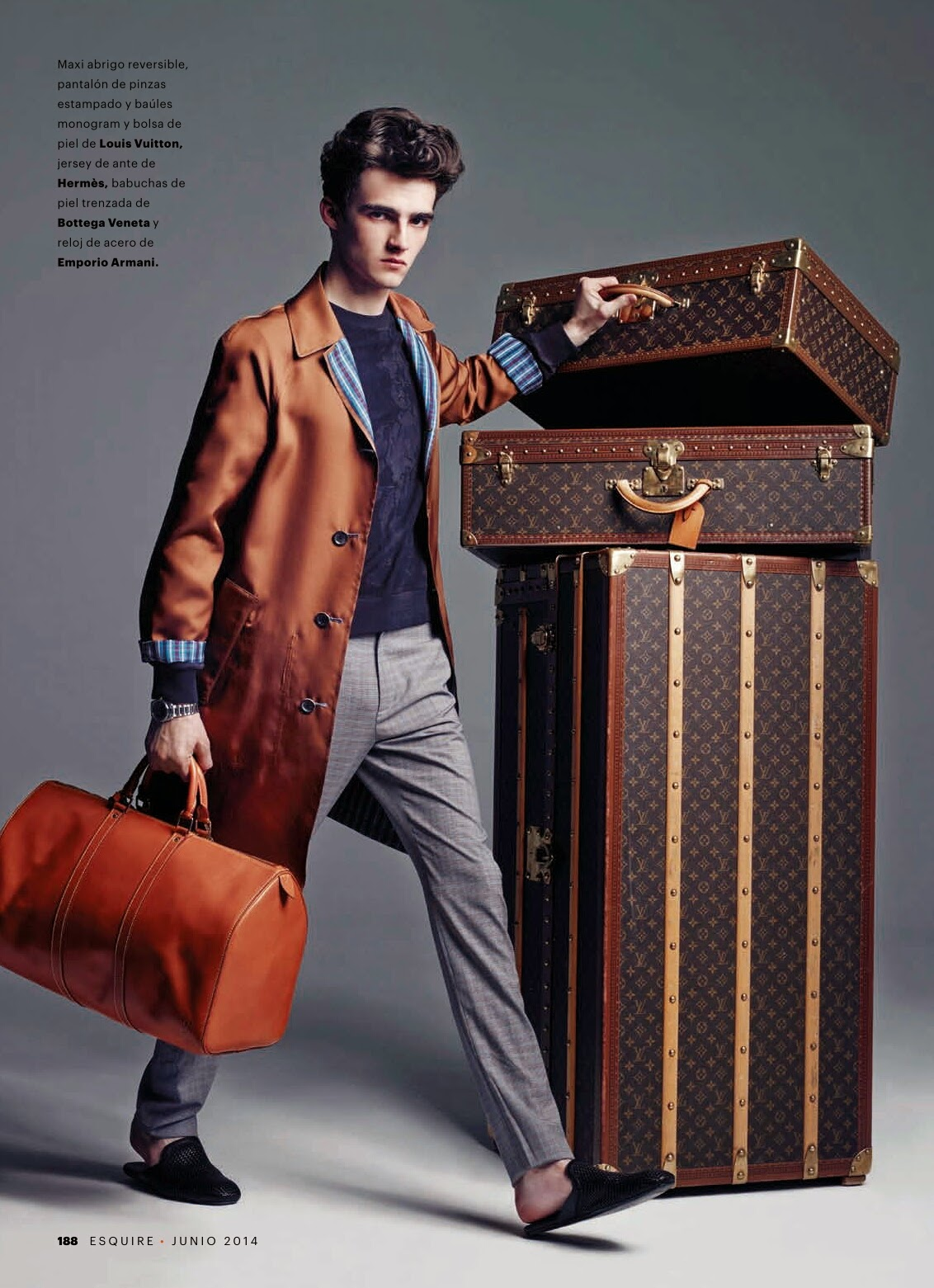 Hit the Road Jack: Elliot Vulliod for Esquire España
