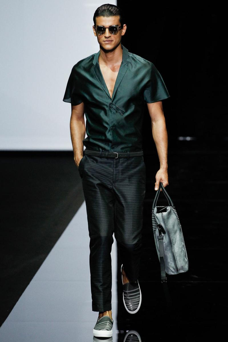 Emporio Armani Men Spring/Summer 2015 | Milan Fashion Week image