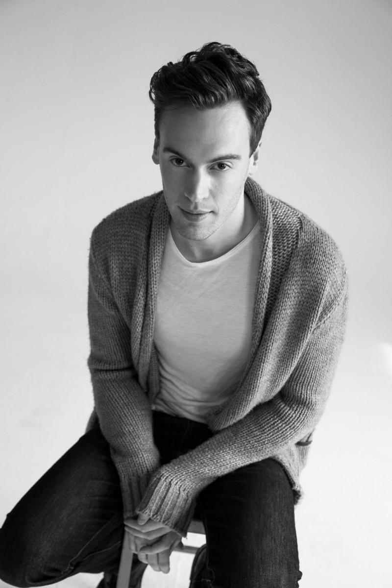 Erich Bergen photographed by Collin Stark