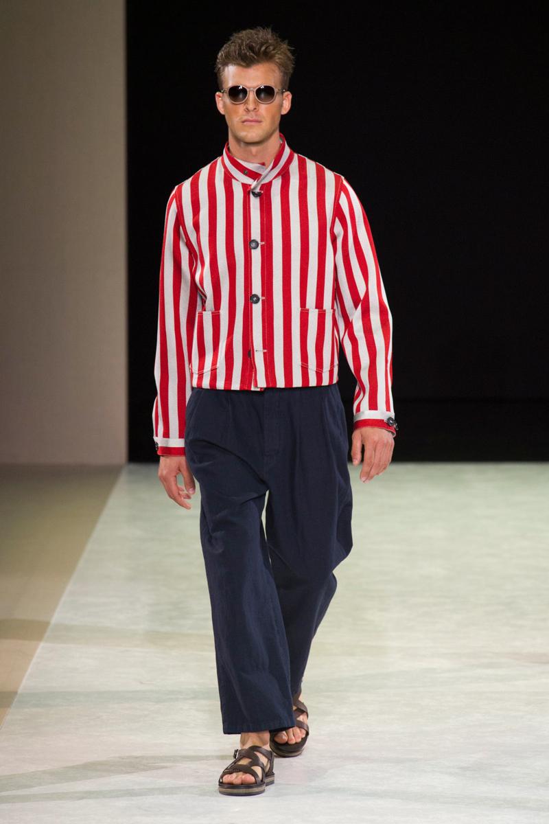 7f58a31405e Giorgio Armani Men 2015 Spring Summer Collection