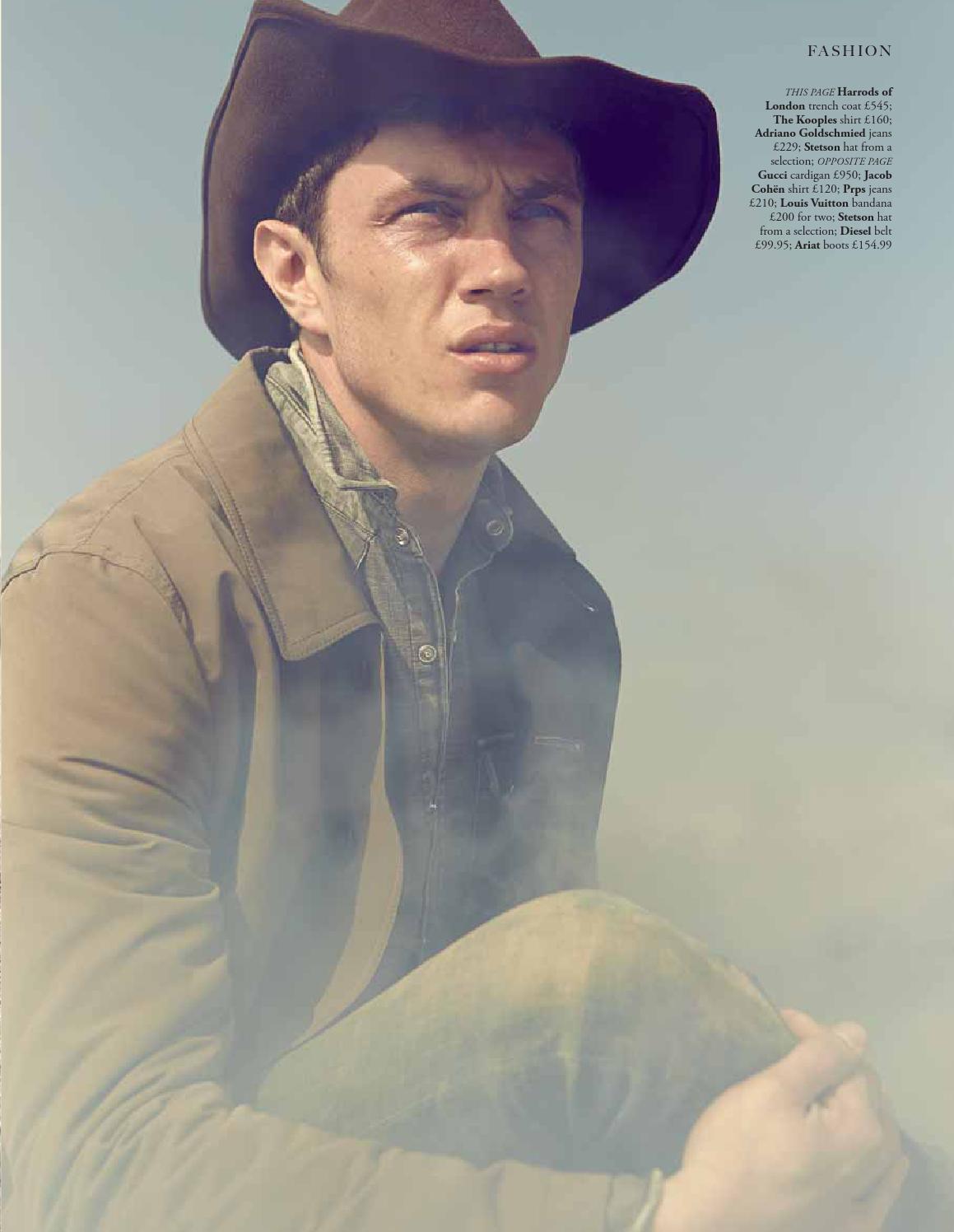 Gavin Jones + Cristiano Basso Play Cowboys for Harrods Magazine