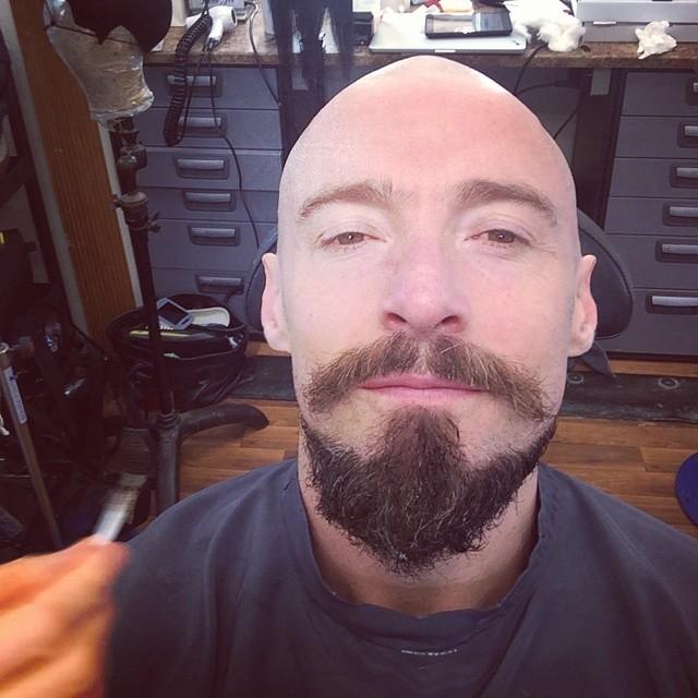 Hugh Jackman Goes Bald for 'Pan' Role as Blackbeard