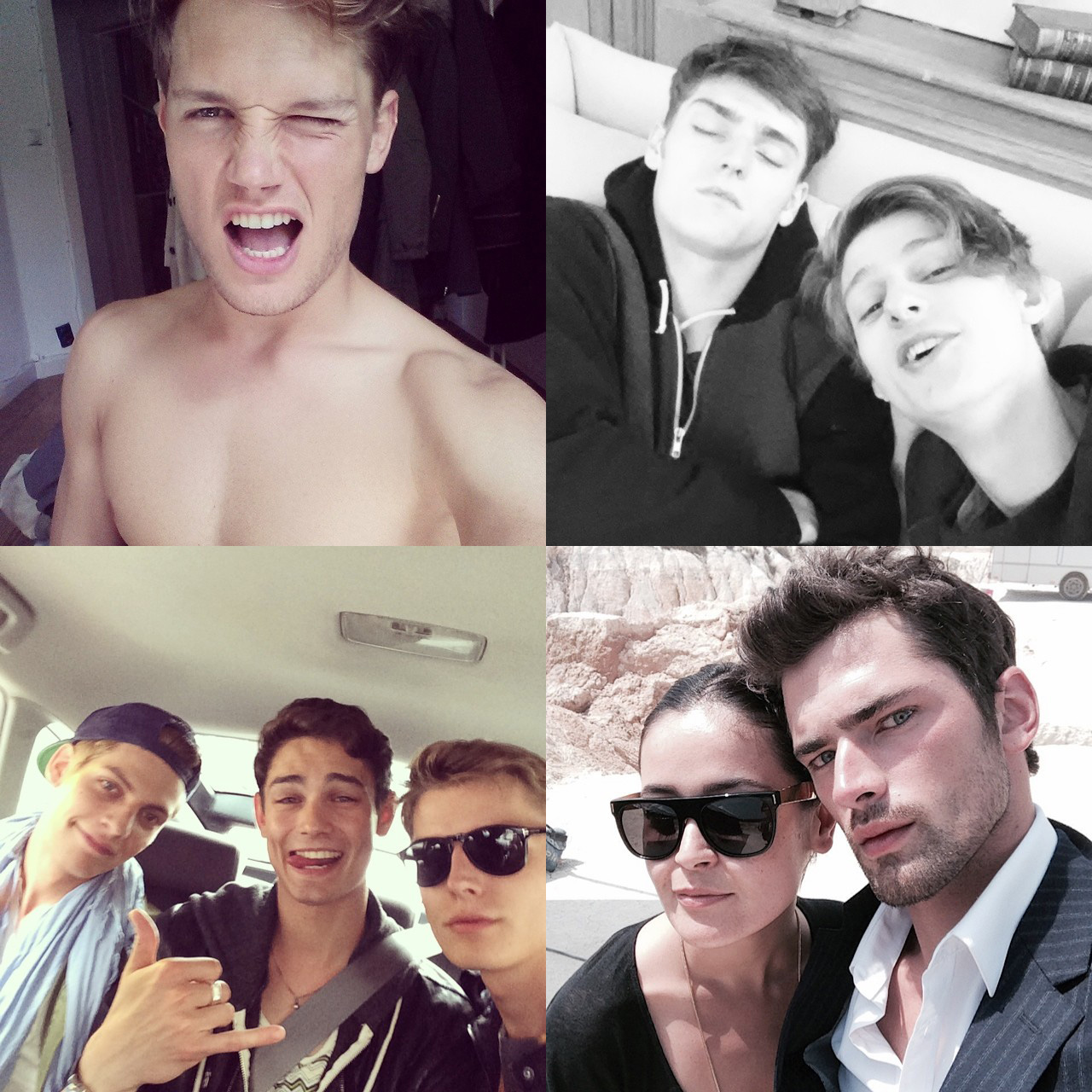 Instagram Photos of the Week: David Gandy, Arthur Gosse, Sean O'Pry + More