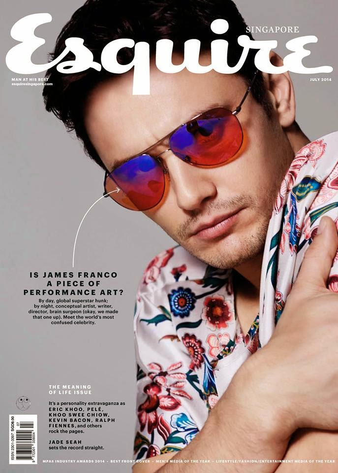 James-Franco-Esquire-Singapore-Cover