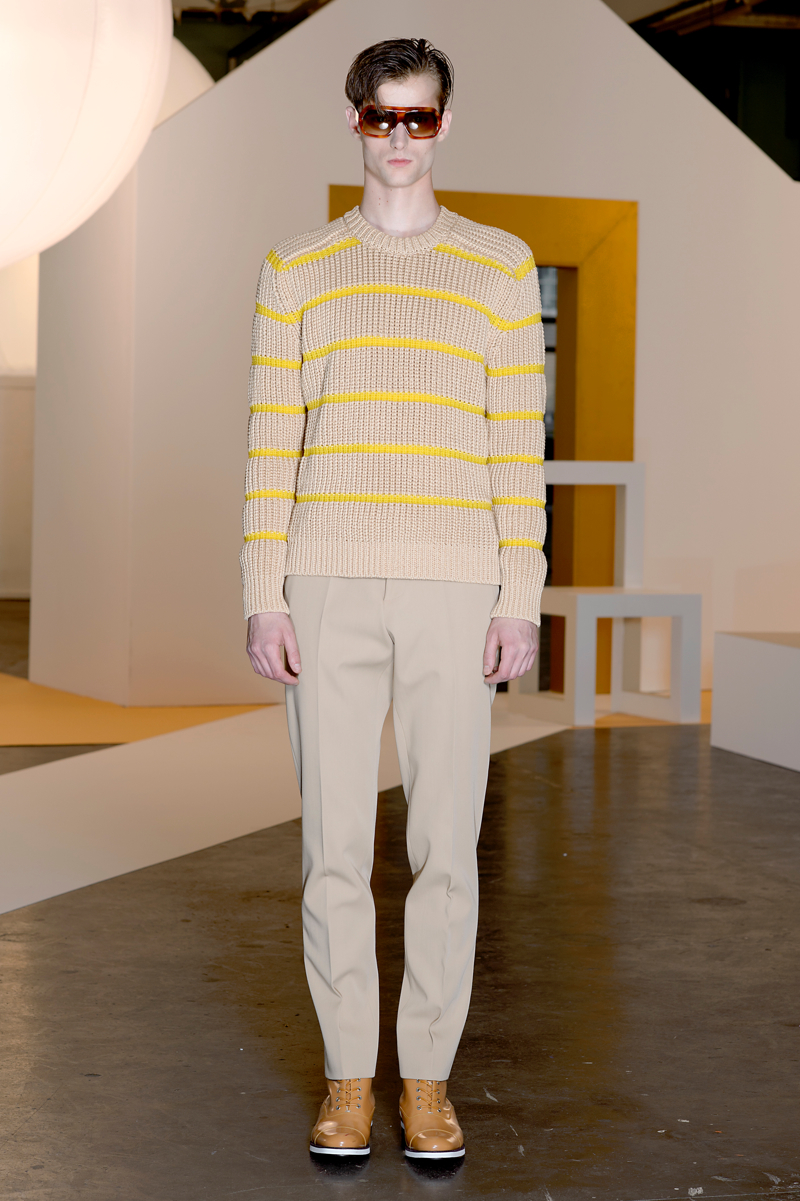 Jonathan Saunders Spring/Summer 2015   London Collections: Men image