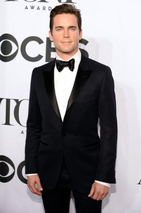 'White Collar' actor Matt Bomer cleans up in a charming tuxedo.