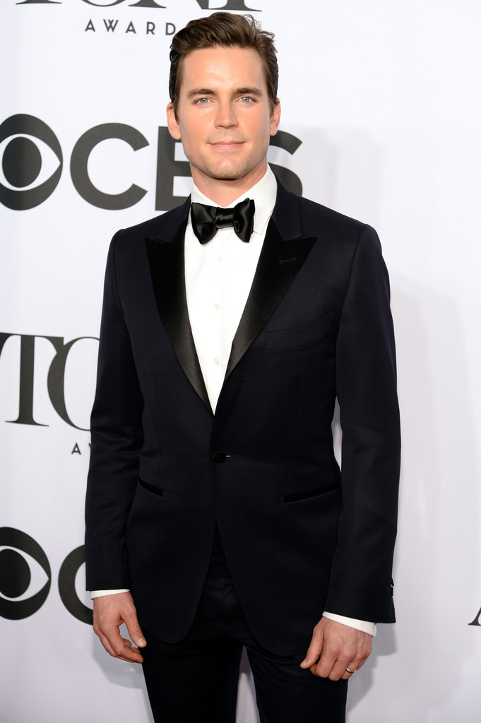 'White Collar' actor Matt Bomer cleans up in a charming tuxedo.