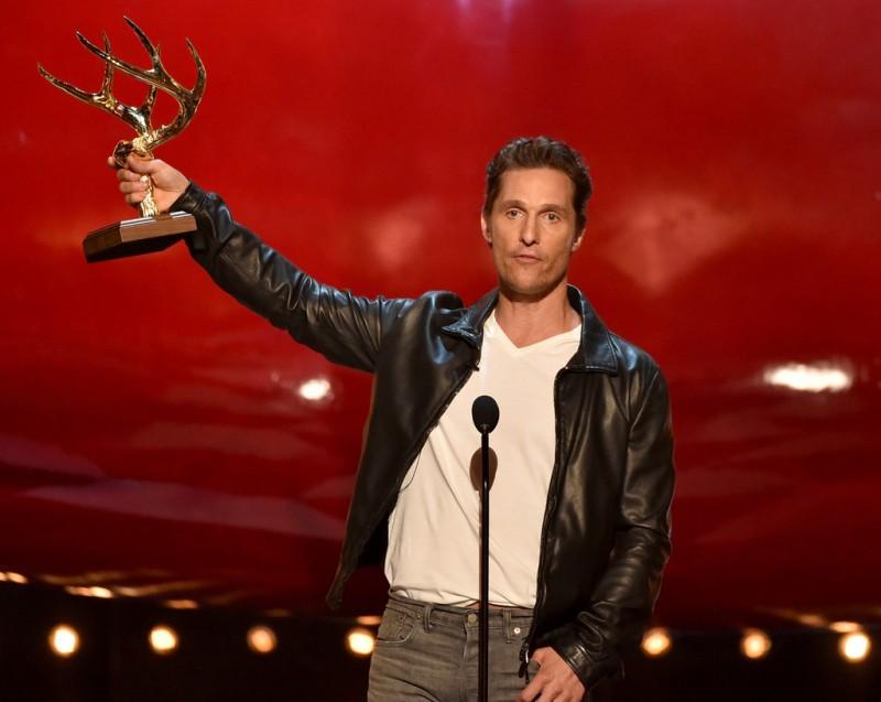 Matthew McConaughey accepts Guy of the Year Award