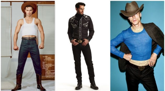 We revisit cowboy references in contemporary fashion.