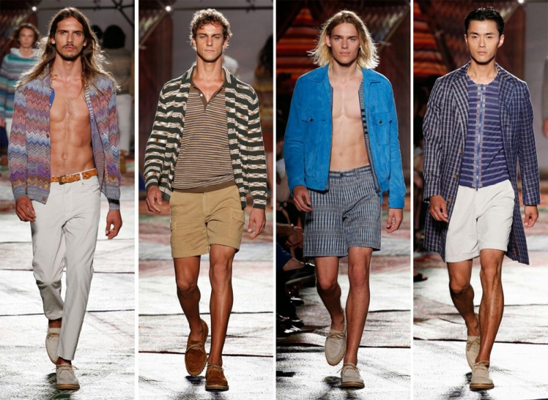 Missoni Spring/Summer 2015: The bohemian surfer served as this season's star for a collection that undeniably cool.