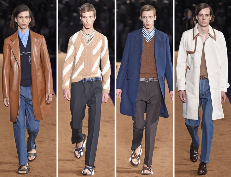 Prada Spring/Summer 2015: The Italian fashion house had wearability on the mind with western undertones.