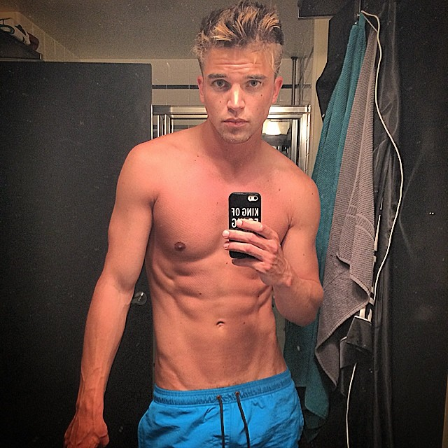 Model and now designer, River Viiperi delivers a new selfie.
