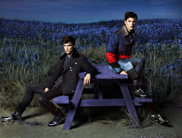 Felix Hermans + Jason Anthony for Salvatore Ferragamo Fall/Winter 2014 Campaign
