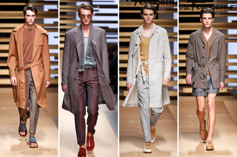 Salvatore Ferragamo Spring/Summer 2015: Sentimental elegance was on the agenda for this Italian fashion house.