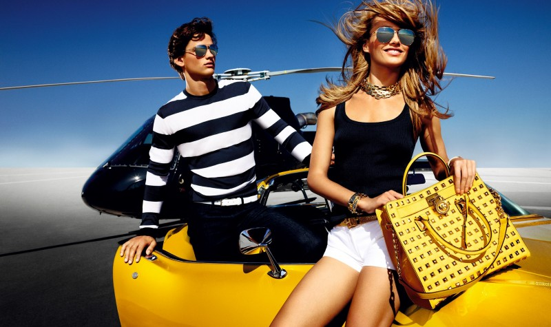 8fac7efe247034 Michael Kors Campaigns with Simon Nessman: Jetsetter Style Muse ...