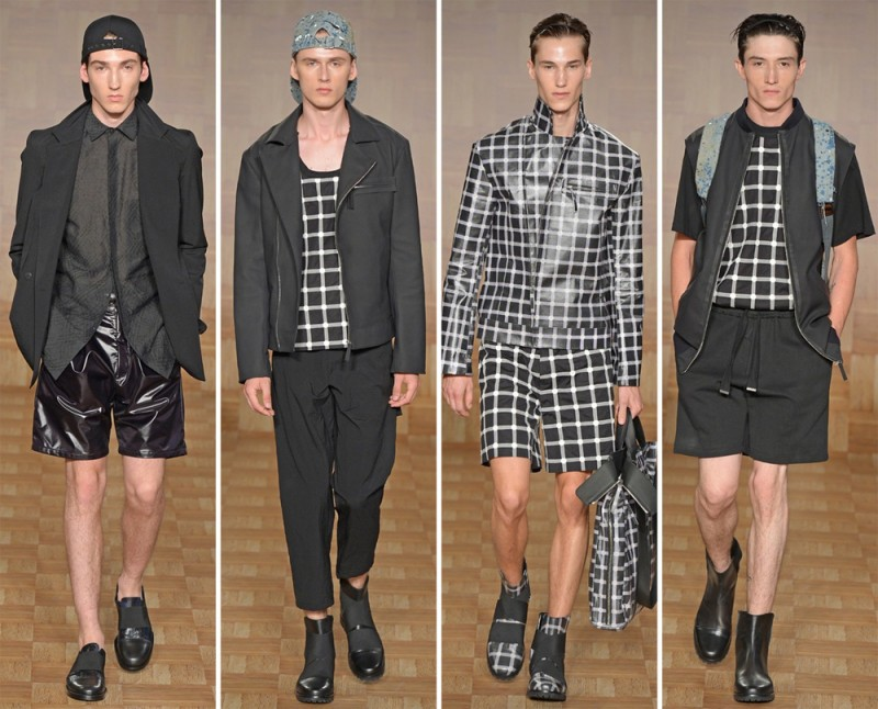 Tillmann Lauterbach Spring/Summer 2015: The label was young and free with a sporty mix of relaxed separates.