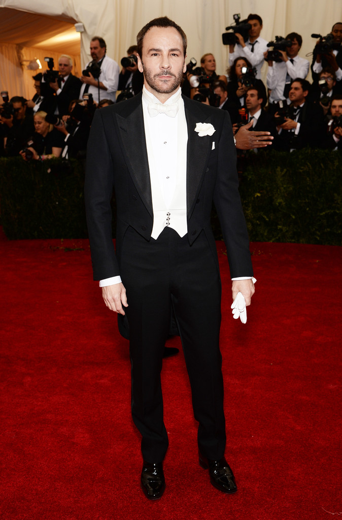 Designer Tom Ford at this year's Met Gala