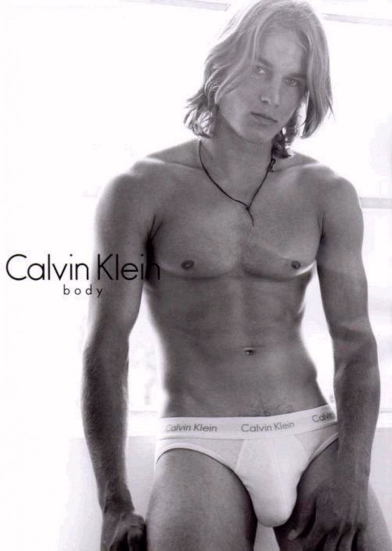 Before he was an actor, Travis Fimmel was the face and body of Calvin Klein Underwear.