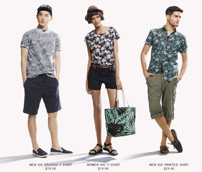 UNIQLO-Hawaiian