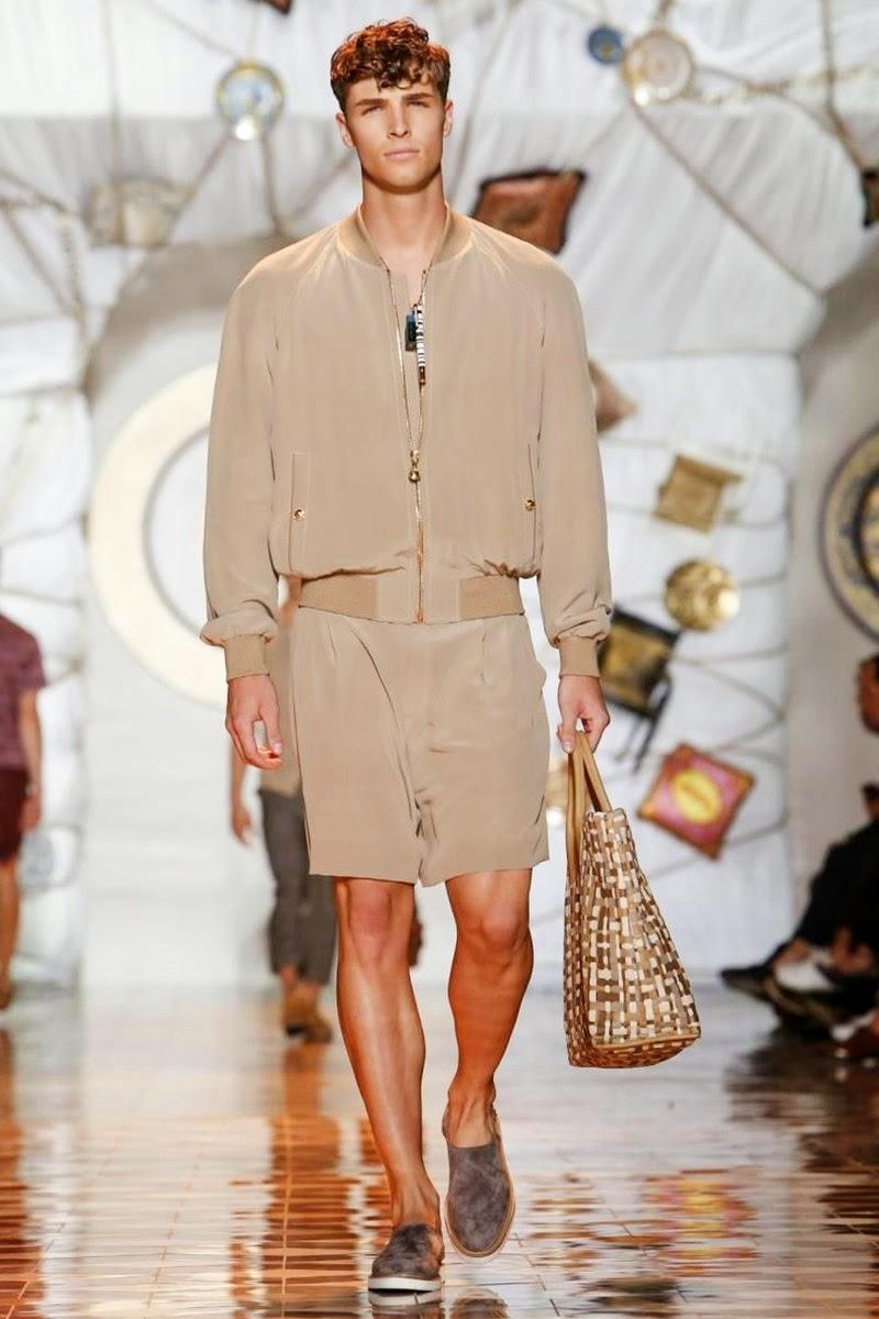 Versace Men Spring/Summer 2015 | Milan Fashion Week image