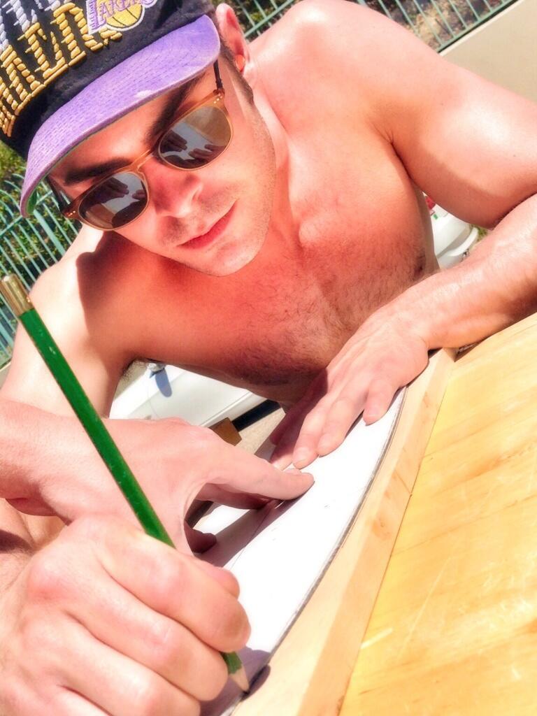 Zac Efron Teams Up with Lekker Skateboards