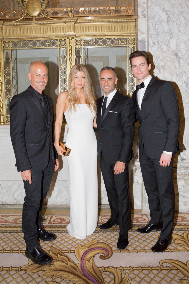 Italo Zucchelli, Fergie, Francisco Costa and Matt Bomer