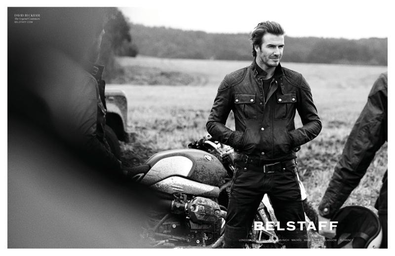 David Beckham Creates Collection for Belstaff
