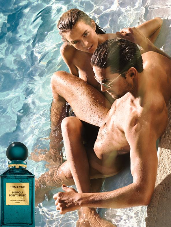 Jamie Jewitt Goes Nude for Tom Ford 'Neroli Portofino' Fragrance Campaign