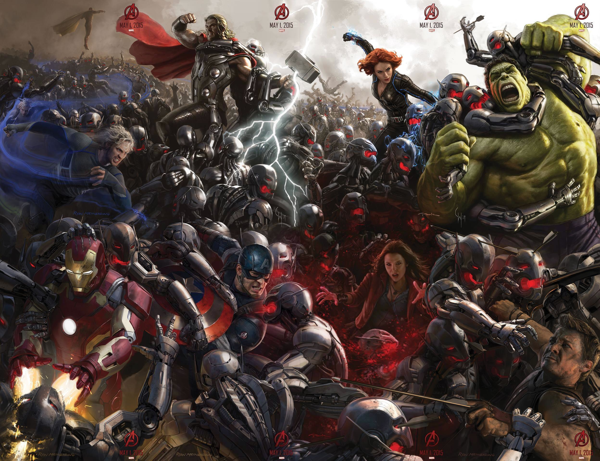 See 'Avengers: Age of Ultron' Poster from Comic-Con 2014