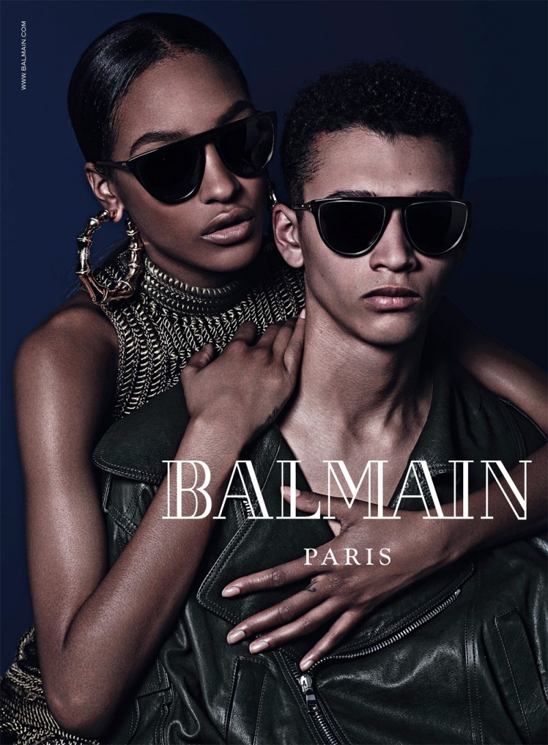 Models Jackson Hale and Jourdan Dunn.