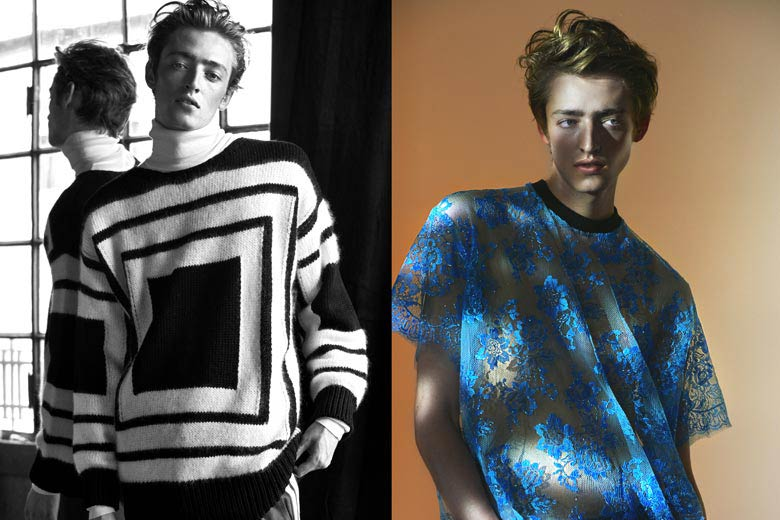 Ben Waters Dons Moody Fall Prints for LUISAVIAROMA