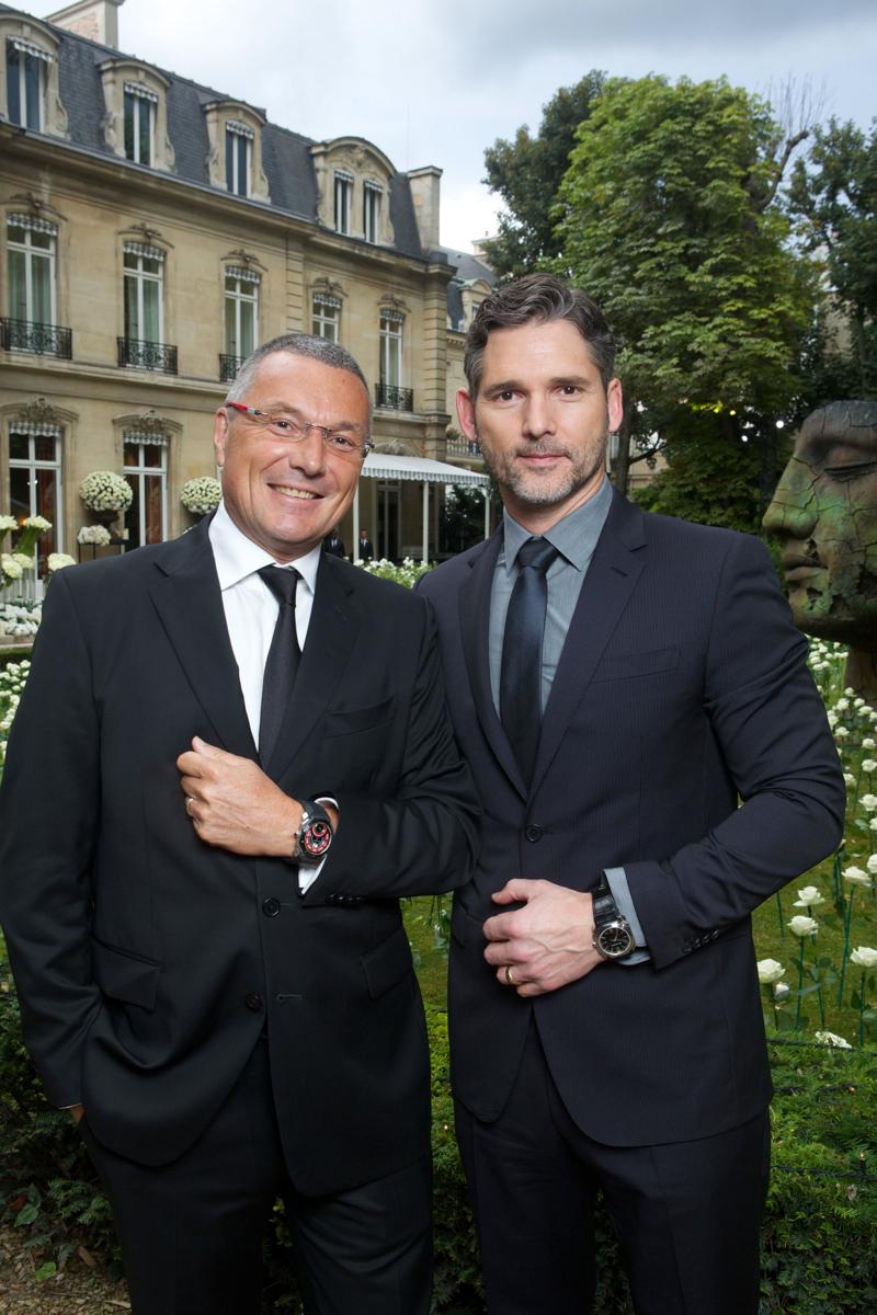 Jean-Christophe Babin and Eric Bana