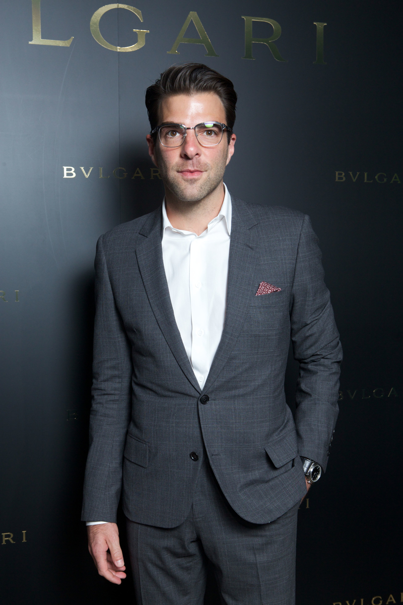 Zachary Quinto in Dior Homme