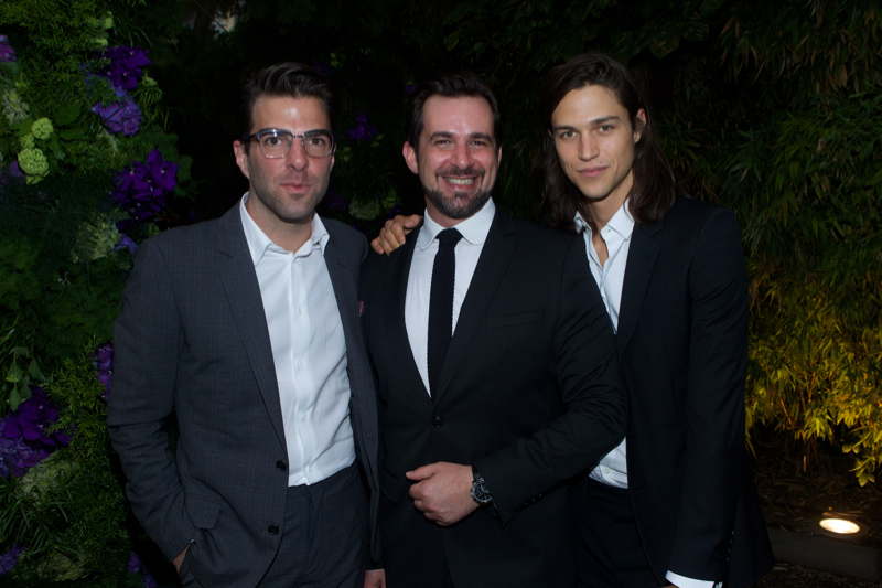 Zachary Quinto, Stephane Gerschel and Miles McMillan