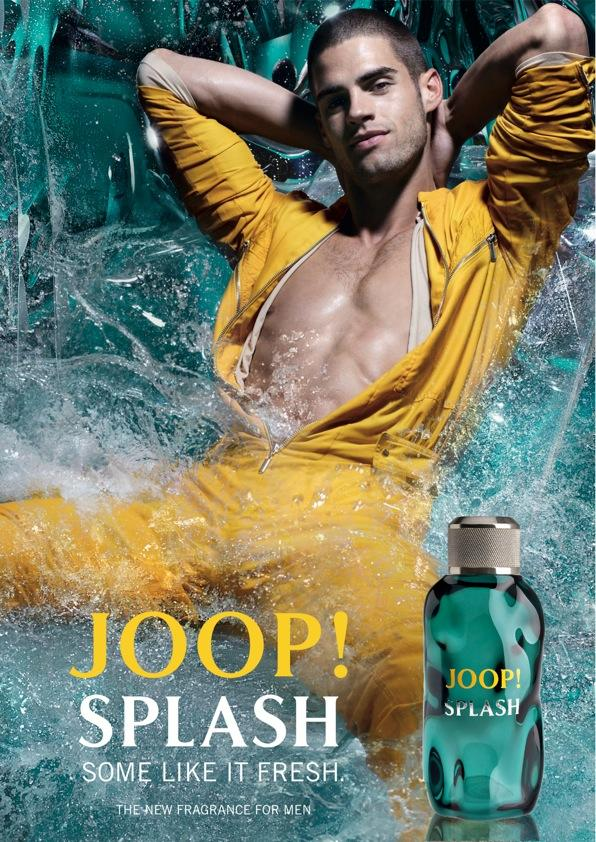 Chad White fronts Joop's 2011 fragrance campaign.