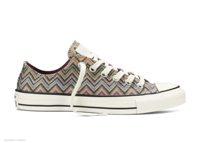 825e35b14390 Converse x Missoni Fall 2014 Shoes to Launch at Nordstrom