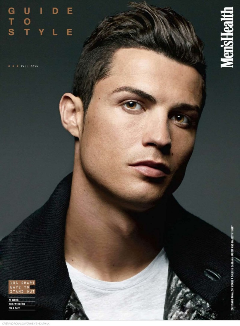 Cristiano Ronaldo Covers Men's Health UK September 2014 ...