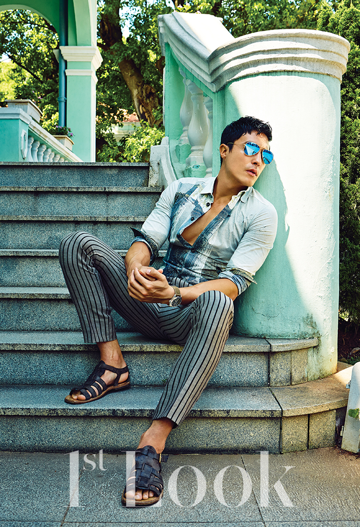 Daniel Henney Models Summer Styles For 1st Look The Fashionisto