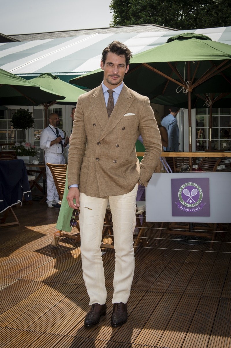 David Gandy - Ralph Lauren - Wimbledon 2014