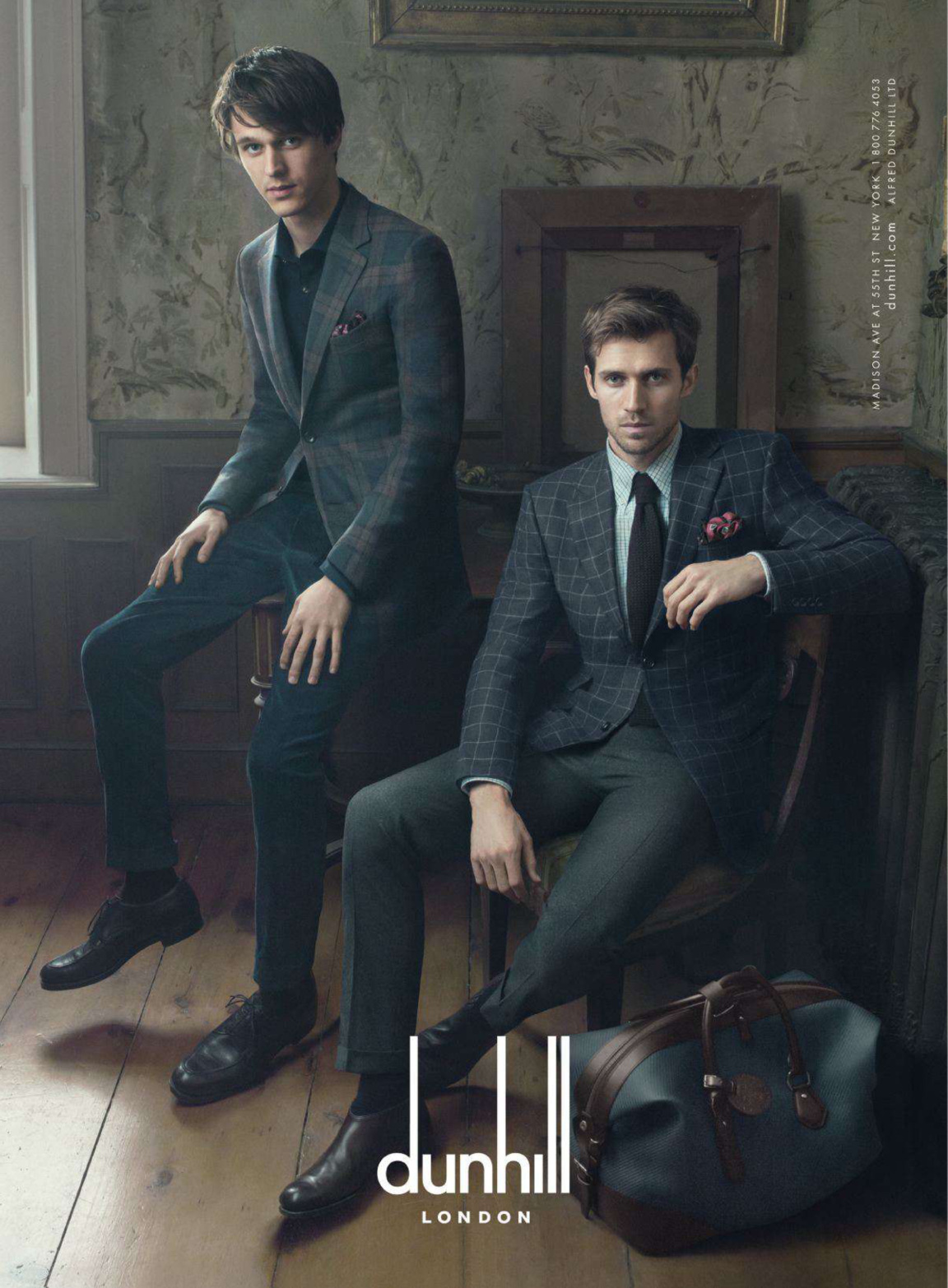 Dunhill Fall/Winter 2014 Campaign with Andrew Cooper, Tara Ferry & Norbert Michalke image