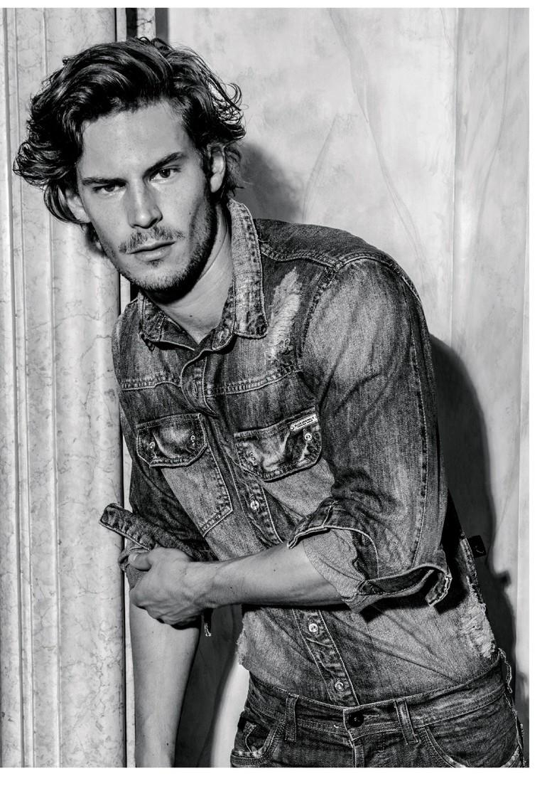 Baptiste Demay Fronts Ellus Fall/Winter 2014 Campaign