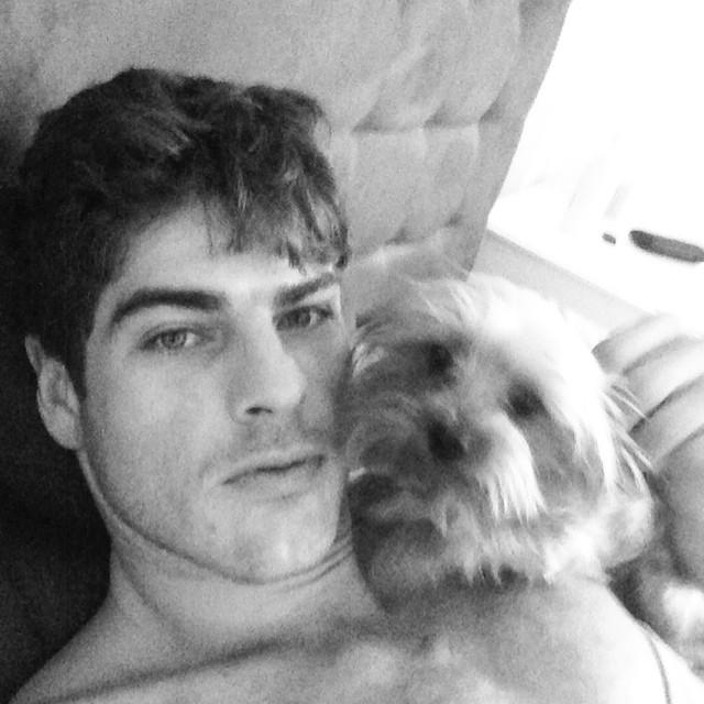 Evandro Soldati shares a morning selfie!
