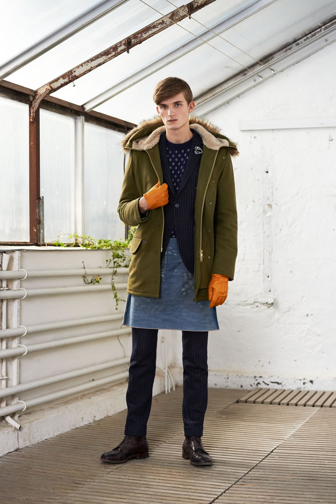 Charlie Westerberg Layers with GANT Rugger Fall/Winter 2014