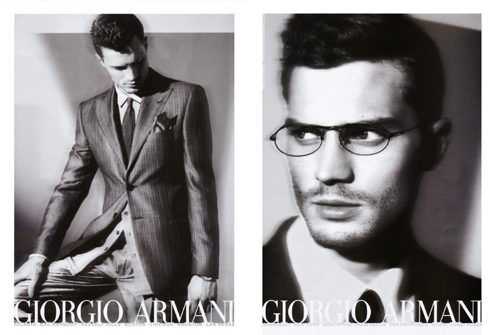 Jamie Dornan by Mert & Marcus for Giorgio Armani spring/summer 2009 campaign.